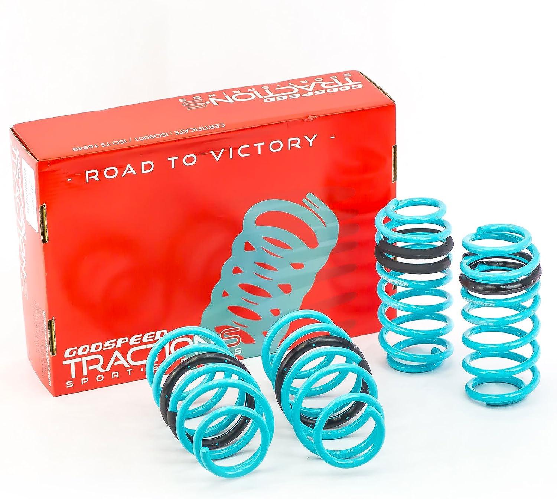Godspeed Traction-S Lowering Spring Set For Honda CRV 2007-2011 gsp set kit LS-TS-HA-0012