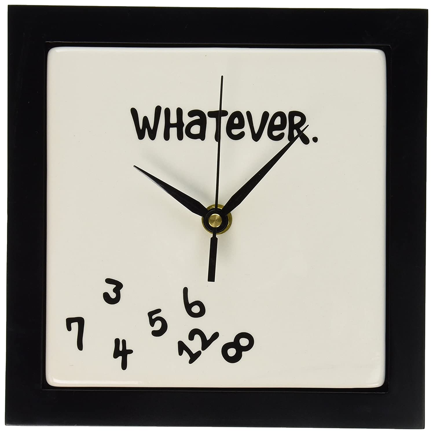 amazoncom whatever wall clock home  kitchen -