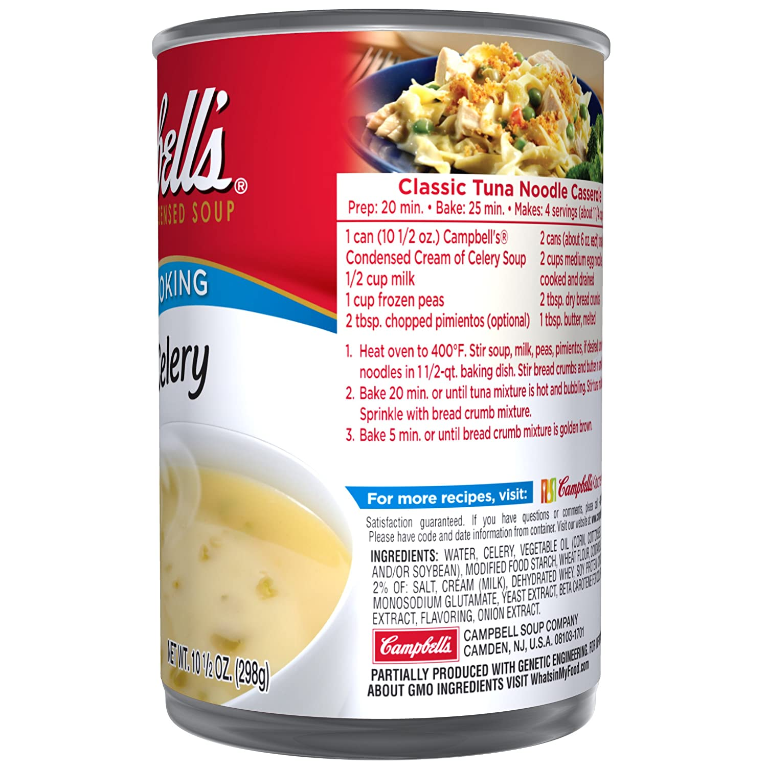 Campbell's Condensed Cream of Celery Soup, 10 5 oz  Can