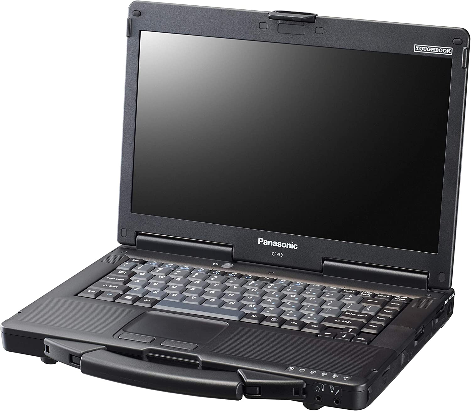 "Panasonic Toughbook CF-53 MK4, i5-4310M @2.00GHz, 14"" HD Touchscreen, 8GB, 480GB SSD, Windows 10 Pro, WiFi, Bluetooth, DVD (Renewed)"