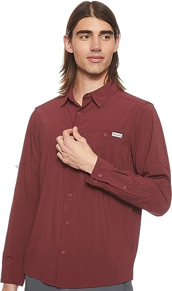Columbia Triple Canyon Solid Long Sleeve Shirt - Camiseta de Manga Larga para Senderismo Hombre: Amazon.es: Ropa y accesorios