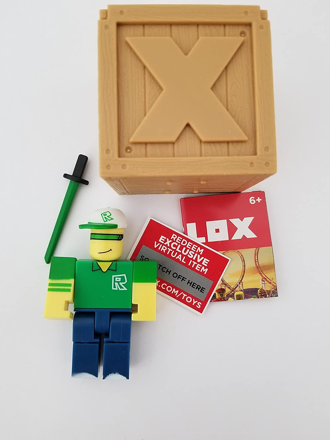 Amazon Com Roblox Series 2 Ripull Action Figure Mystery Box