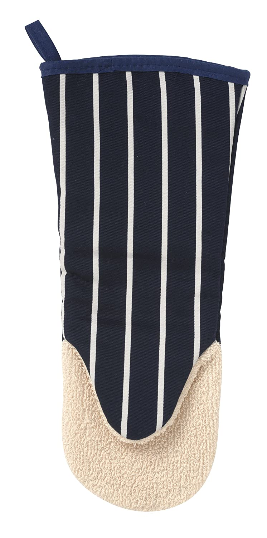 British Textile Company Butchers Stripe Navy Gauntlet C'est Ca 822032 Textiles Oven Gauntlets & Mitts