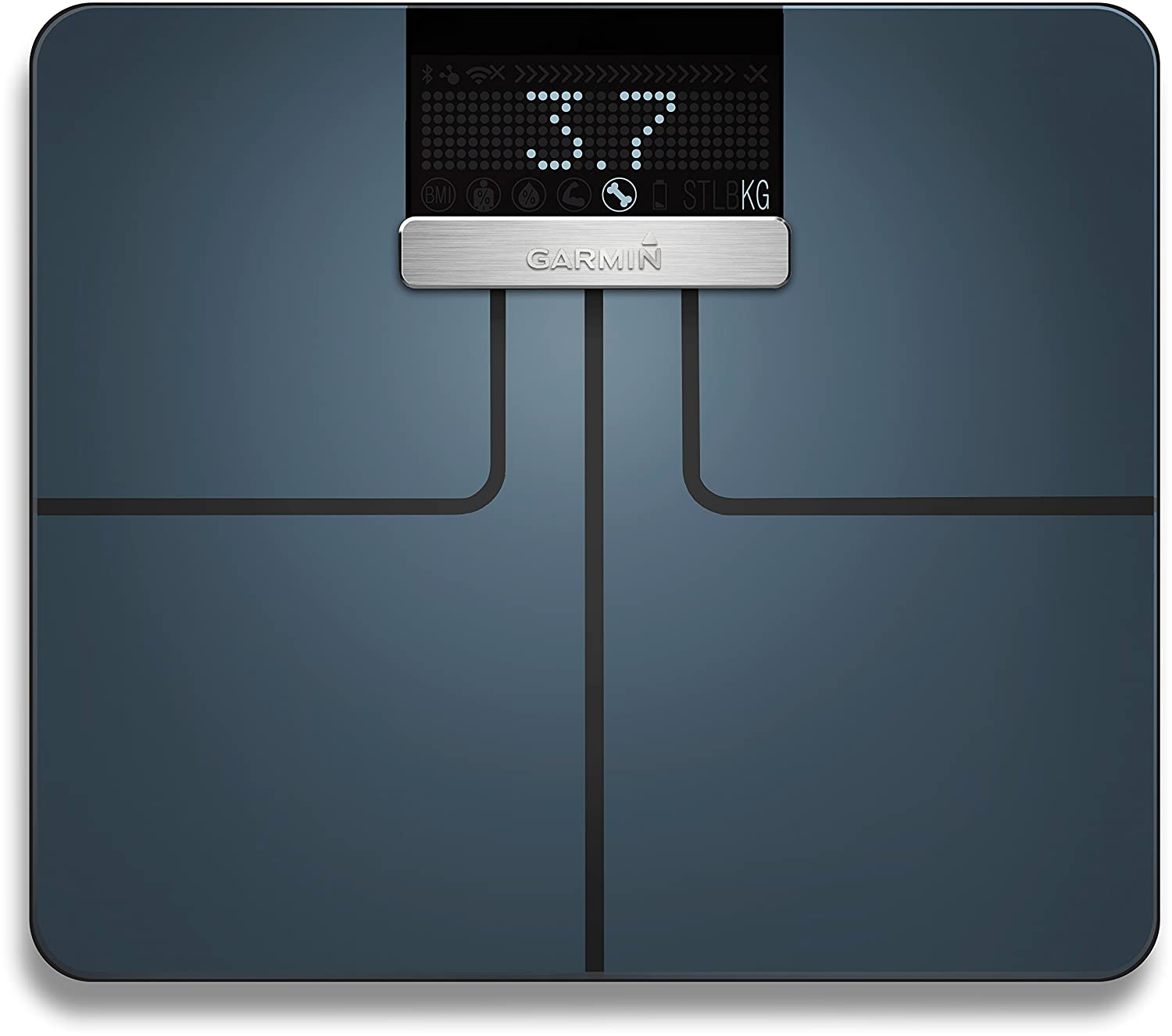 Amazon.com: Garmin 010-01591-10 Garmin Index Smart Scale - Black International Version: Electronics
