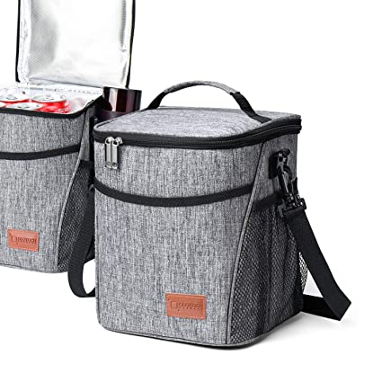 5fa698027c Amazon.com  Glotoch Insulated Lunch Box Lunch Bag for Adults Men Women  Children