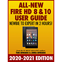 Image for All-New Fire HD 8 & 10 User Guide - Newbie to Expert in 2 Hours!