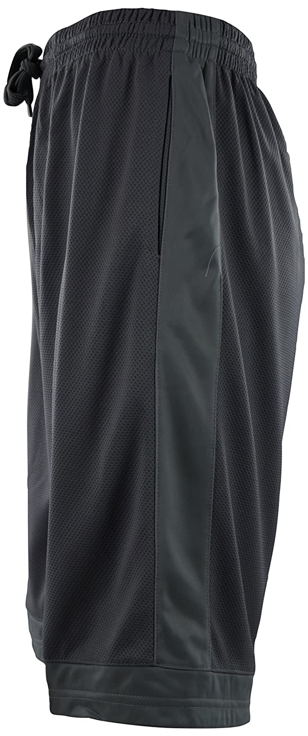 ChoiceApparel Mens Solid Color Basketball Training Shorts with Pockets and Drawstring
