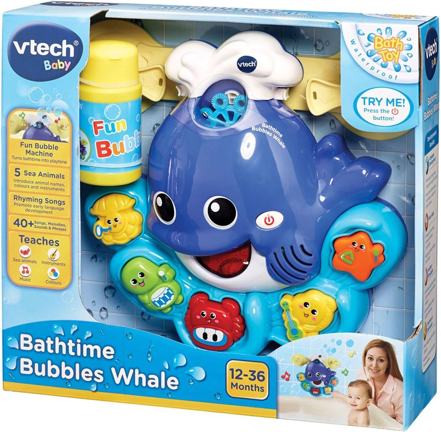 VTech 80 146004 Bath-time fun Bubbles Whale GERMAN EDITION
