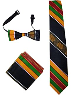 887d97ac91dc Amazon.com: African Kente Print, Vest Set: Clothing