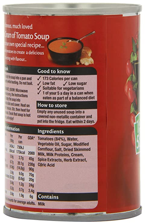 39479d707ce Heinz Classic Cream of Tomato Soup