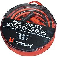 Voilamart - Cable de Arranque para batería de Coche de 3000 A y 6 m (Incluye Bolsa de Transporte con Cremallera y asa)