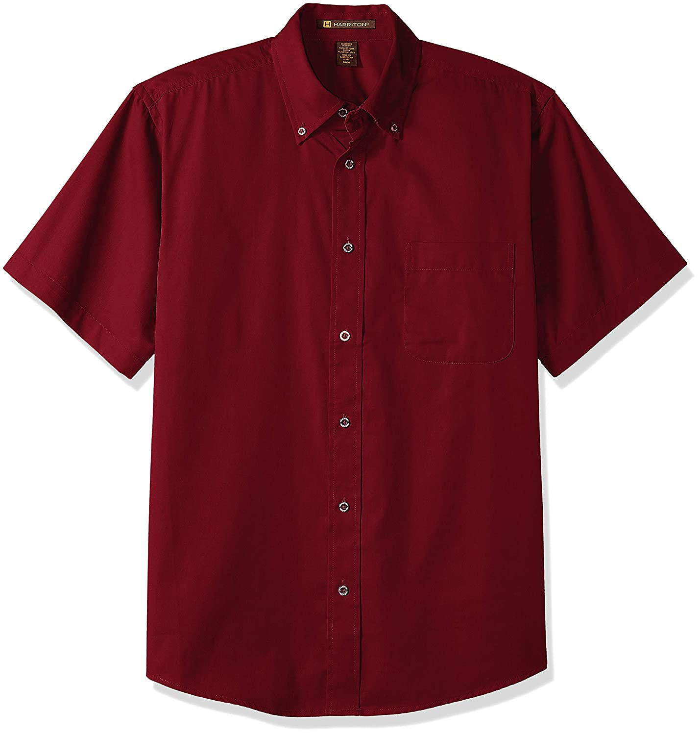 Harritton Mens HART-M500S-600-4XL 4XL Wine