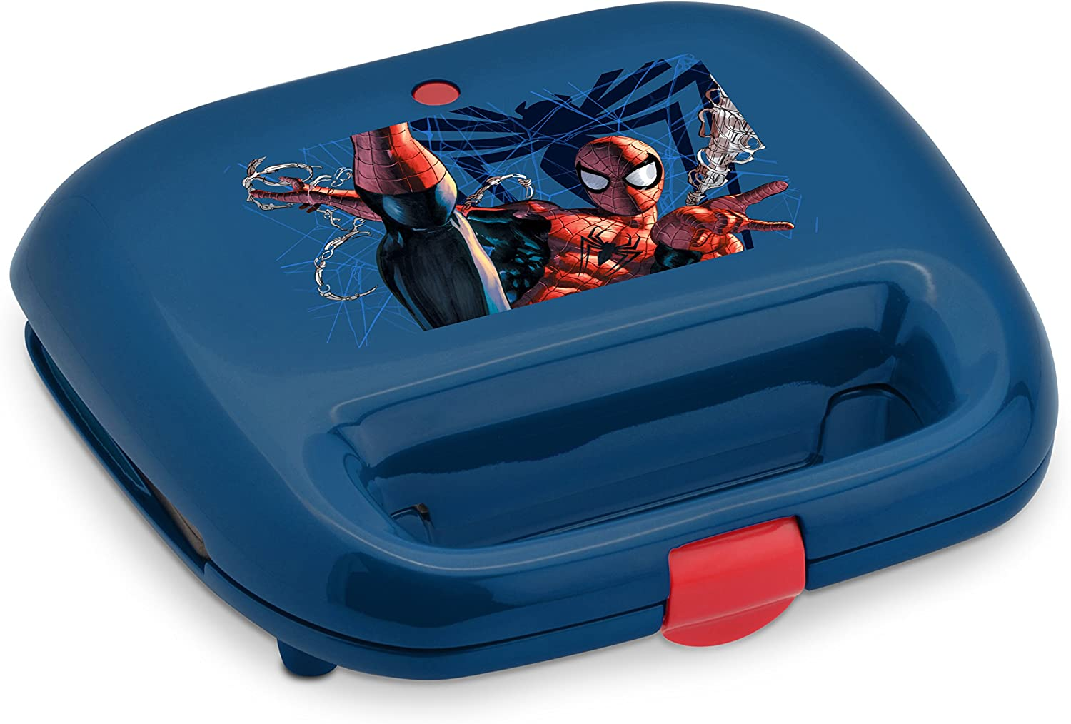 Marvel MVS-2, Spiderman Waffle Maker, Blue Red