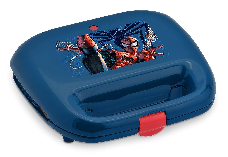 Marvel MVS-2, Spiderman Waffle Maker, Blue/Red