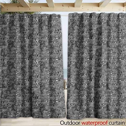 warmfamily - Pérgola de Cebra para Patio, diseño de Rayas africanas: Amazon.es: Jardín