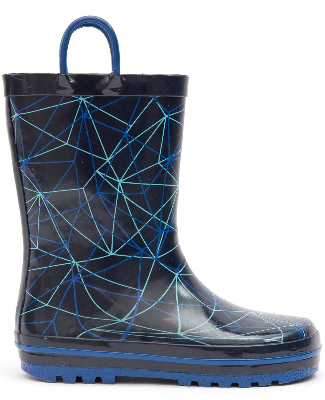 MOFEVER Toddler Kids Rubber Rain Boots