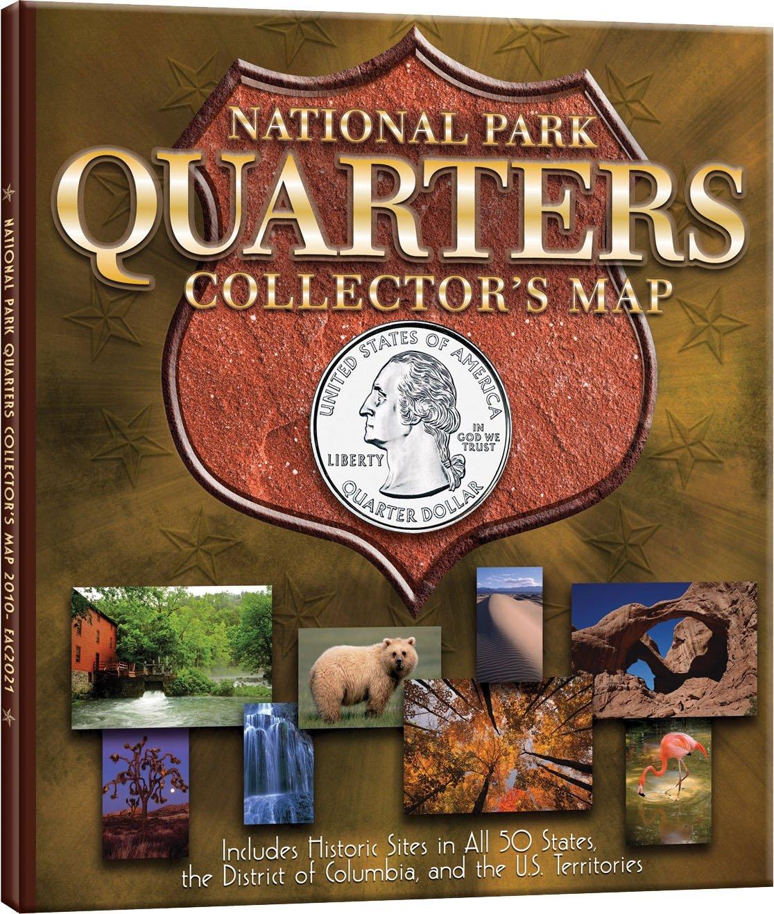 National Park Quarter Archive Map