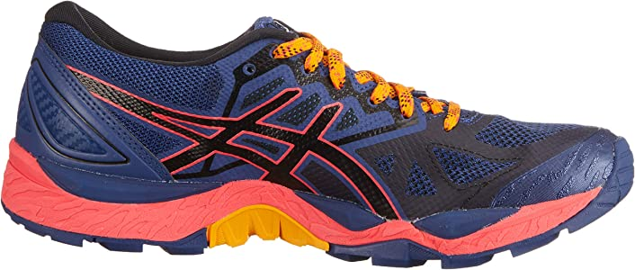 Asics Traillaufschuh Gel-Fujitrabuco 6 G-TX, Zapatillas de Running para Asfalto para Mujer, Azul (Blue Print/Black ...