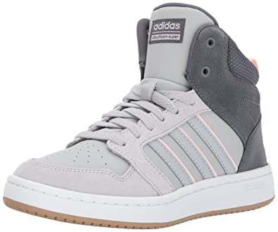 reputable site 8a647 7ef76 adidas NEO Womens CF Superhoops Mid W Basketball-Shoes, WhiteWhiteMatte