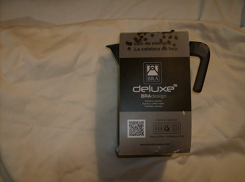 BRA CAFETERA DE Luxe 2, Aluminio, Plata, 9 Tazas: Amazon.es: Hogar