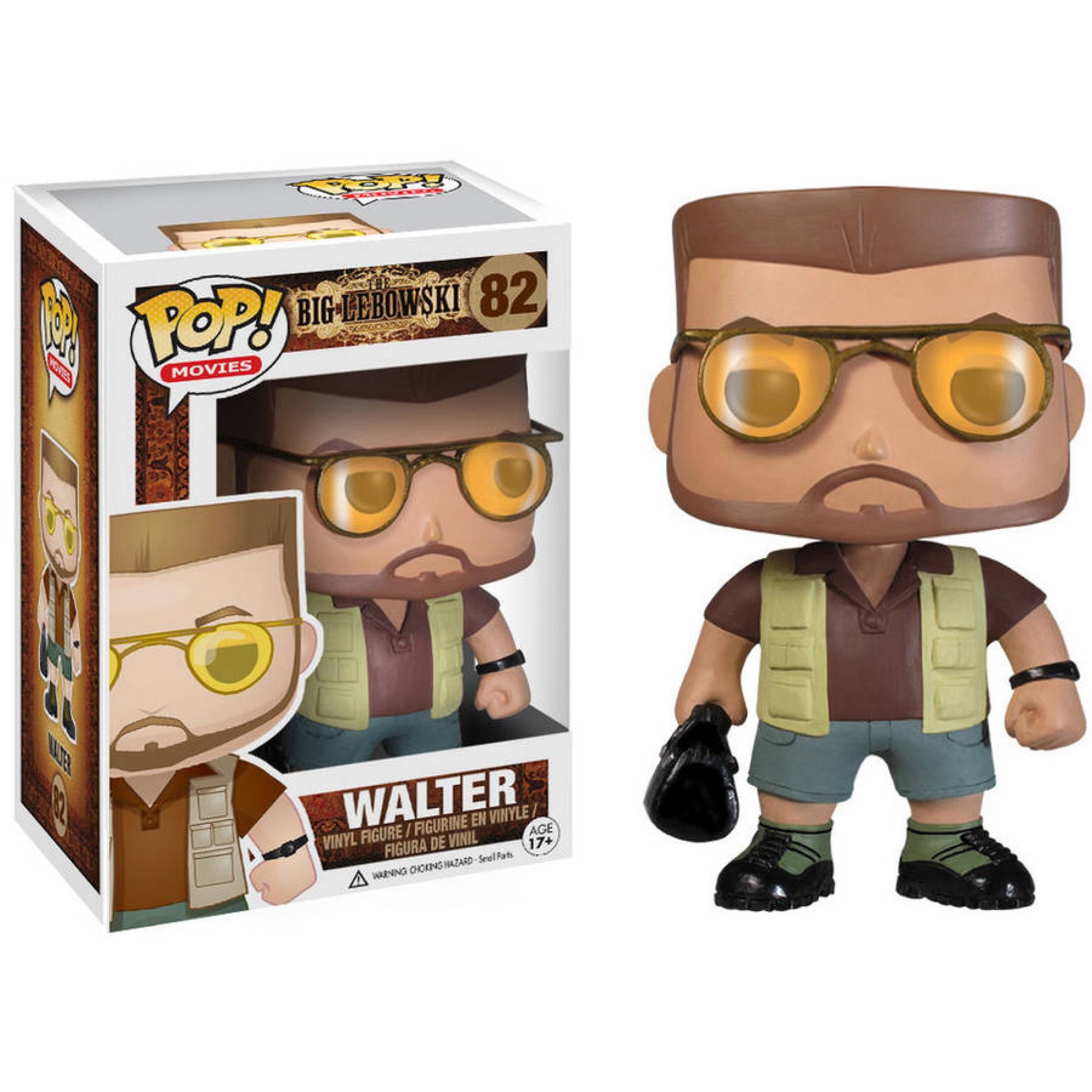Funko Pop! Movies: The Big Lebowski, Walter