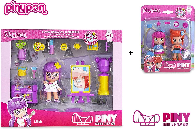 Amazon.es: Famosa PinyPon - Pack Pinypon Clase Arte Lilith (700012918) + Blister 2 Personajes Michelle y Rita (700012915): Juguetes y juegos