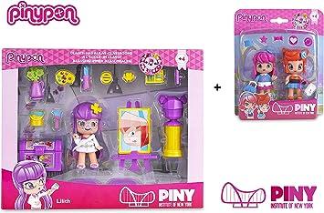 Famosa PinyPon - Pack Pinypon Clase Arte Lilith ... - Amazon.es