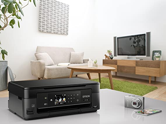 Epson Expression Home XP-440 Wireless Color Photo Printer with Scanner and Copie