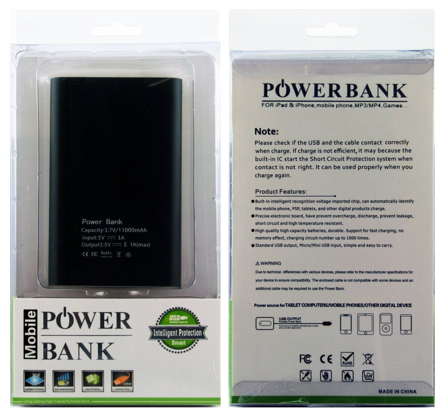 11000mah Portable Charger External Battery Pack Power Bank Newtech 12000mah Original Jabodetabek Only Personalized Custom Text Customizable For Apple Iphone Ipad Samsung Galaxy And