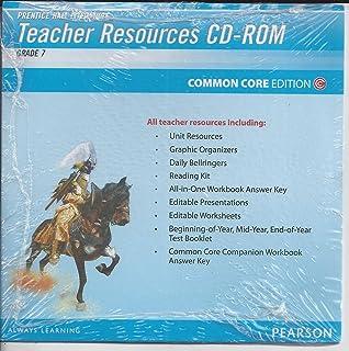 Amazon.com: Prentice Hall Literature, Teacher's Edition ,Grade 7 ...