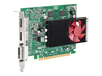 Amazon.com: HP n3r91at AMD Radeon R9 350 2 GB X16 GFX ...