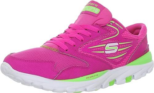 Skechers Go Run 13500 - Zapatillas de deporte para mujer, Rosa ...