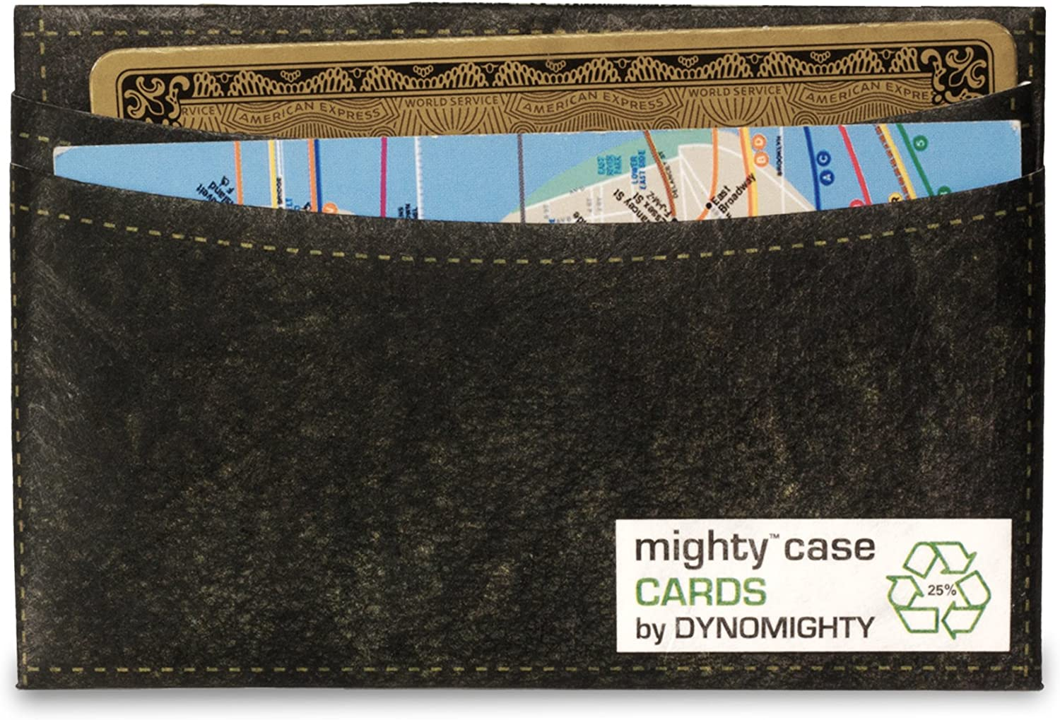 Dynomighty Mens Leather Mighty Case Cards