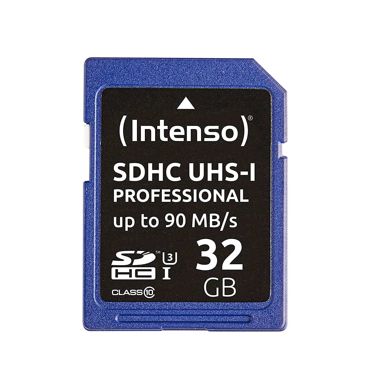 Intenso 3421480 Carte SDHC UHS-I Classe 10 32 Go