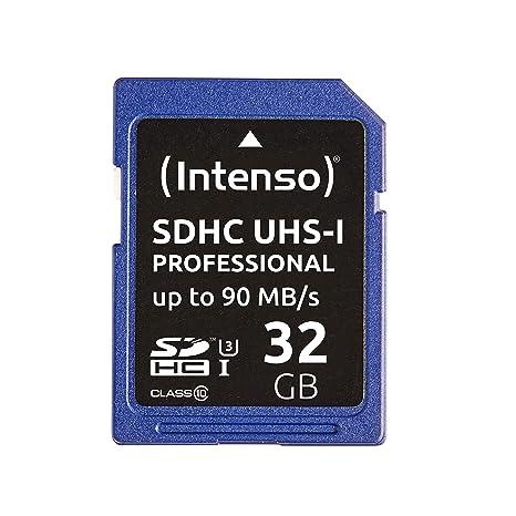 Intenso 32GB SDHC Memoria Flash Clase 10 UHS - Tarjeta de ...