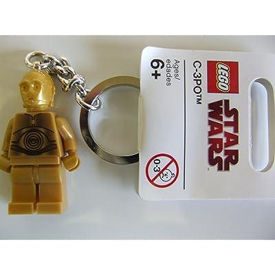 Lego Star Wars C-3PO Keychain: Toys & Games