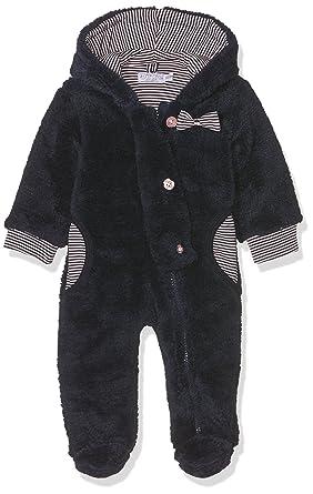 36d9ae723 Dirkje Baby Girls' 31x-26219h-Babysnowsuit Padding Snowsuit, Blue (Navy 1