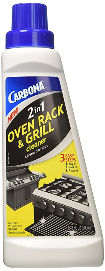 Carbona 320 Carbona 2-In-1 Oven Rack And Barbeque Cleaner – Best 2-in-1 Cleaner