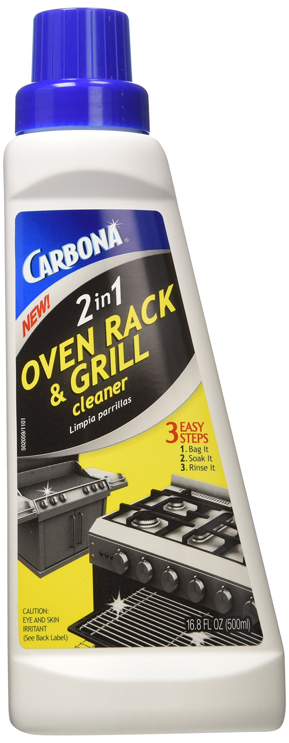 Amazon Com Carbona 2 In 1 Oven Rack And Grill Cleaner
