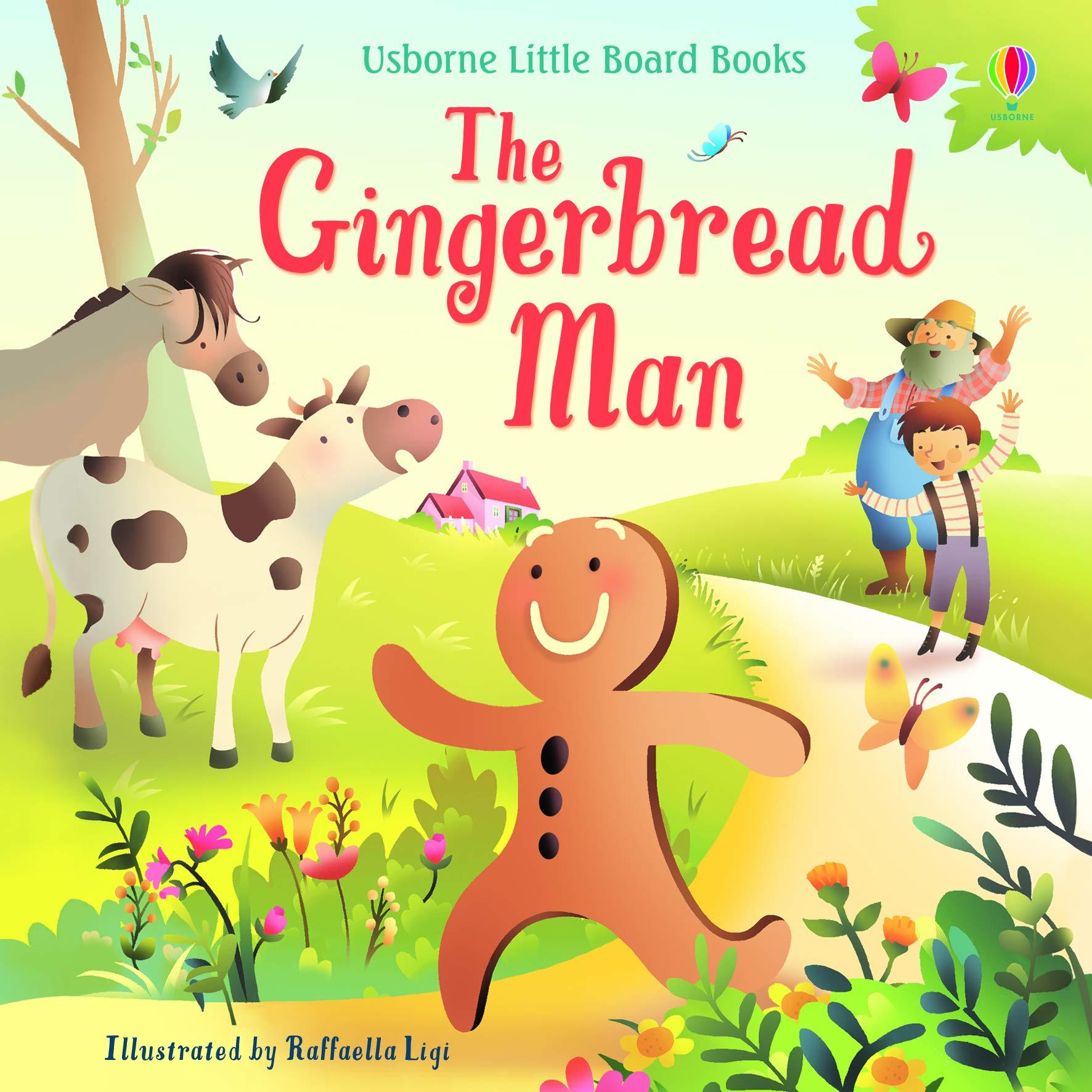 The Gingerbread Man (Usborne Listen and Read Story Books): Amazon.co.uk:  Lesley Sims, Raffaella Ligi, Raffaella Ligi: 9781474969598: Books