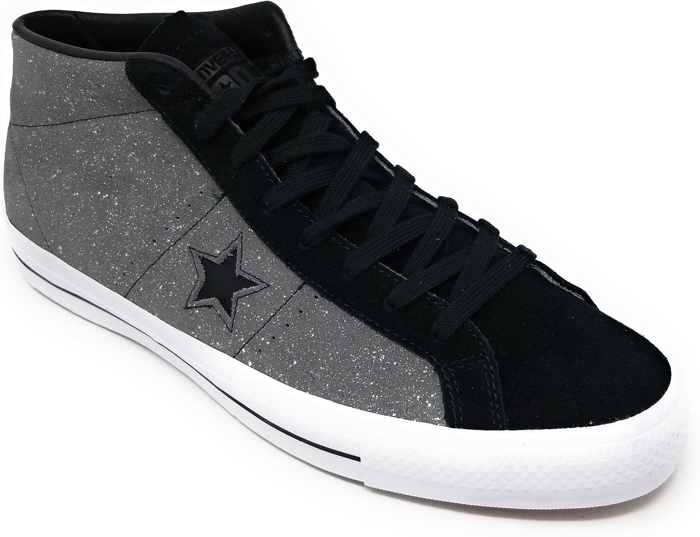 converse one star full black