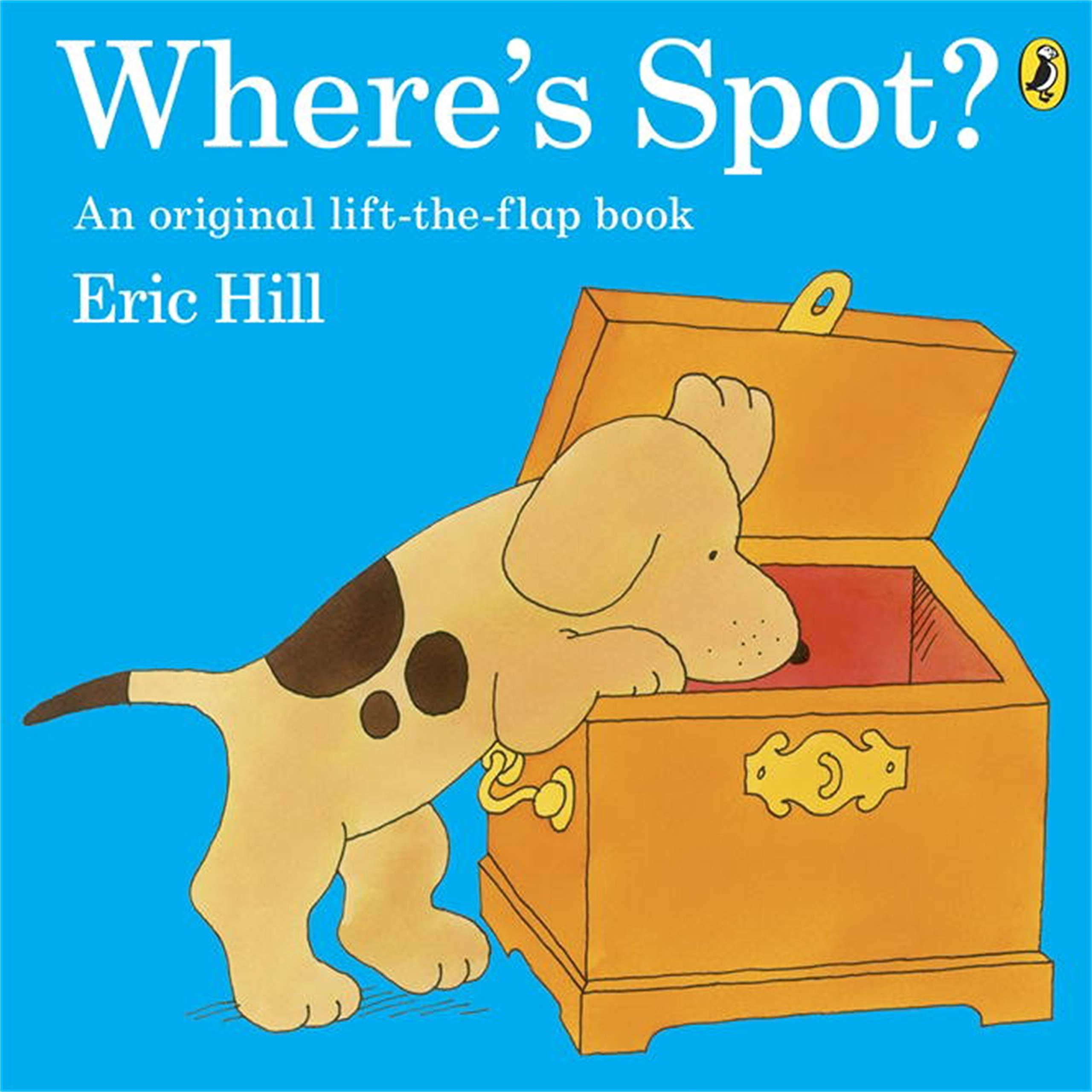 Where's Spot? : Hill, Eric: Amazon.co.uk: Books