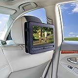 TFY Supporto Auto Poggiatesta Lettore DVD Portatile - 9 Modello Girevole e Piegabile 9 Pollici