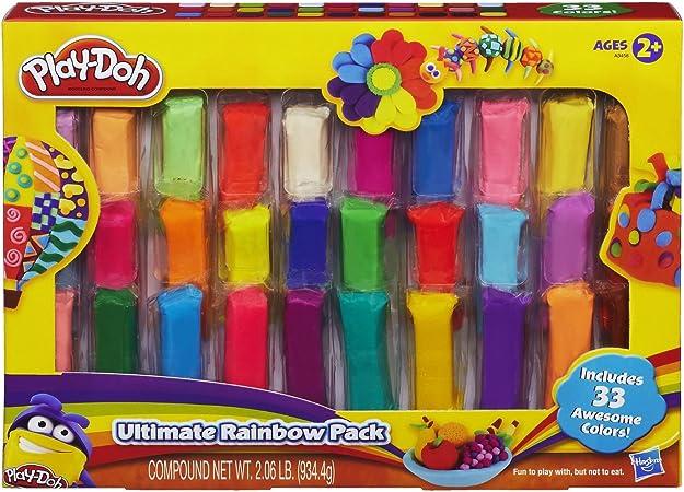 Play-Doh Rainbow Ultimate Pack [Toy]: Amazon.es: Juguetes y juegos