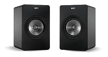 kef x300a. kef x300a wireless digital hi-fi speaker system - gunmetal grey (pair) kef x300a