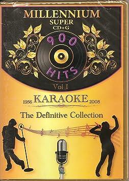 DK Millennium Super CDG Vol.1 - 905 Karaoke songs for CAVS or Windows PC
