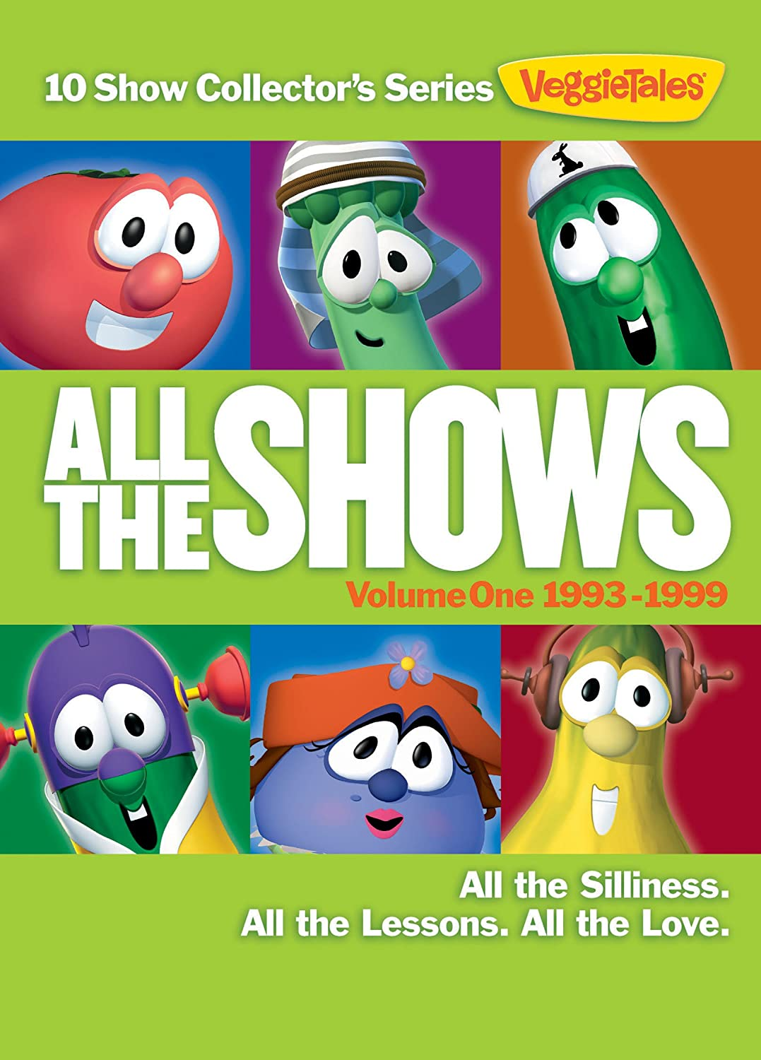 VeggieTales: All The Shows, Vol. 1 - (2015 Re-package) Larry Boy Josh ANConnect Cartoons & Animation Movie
