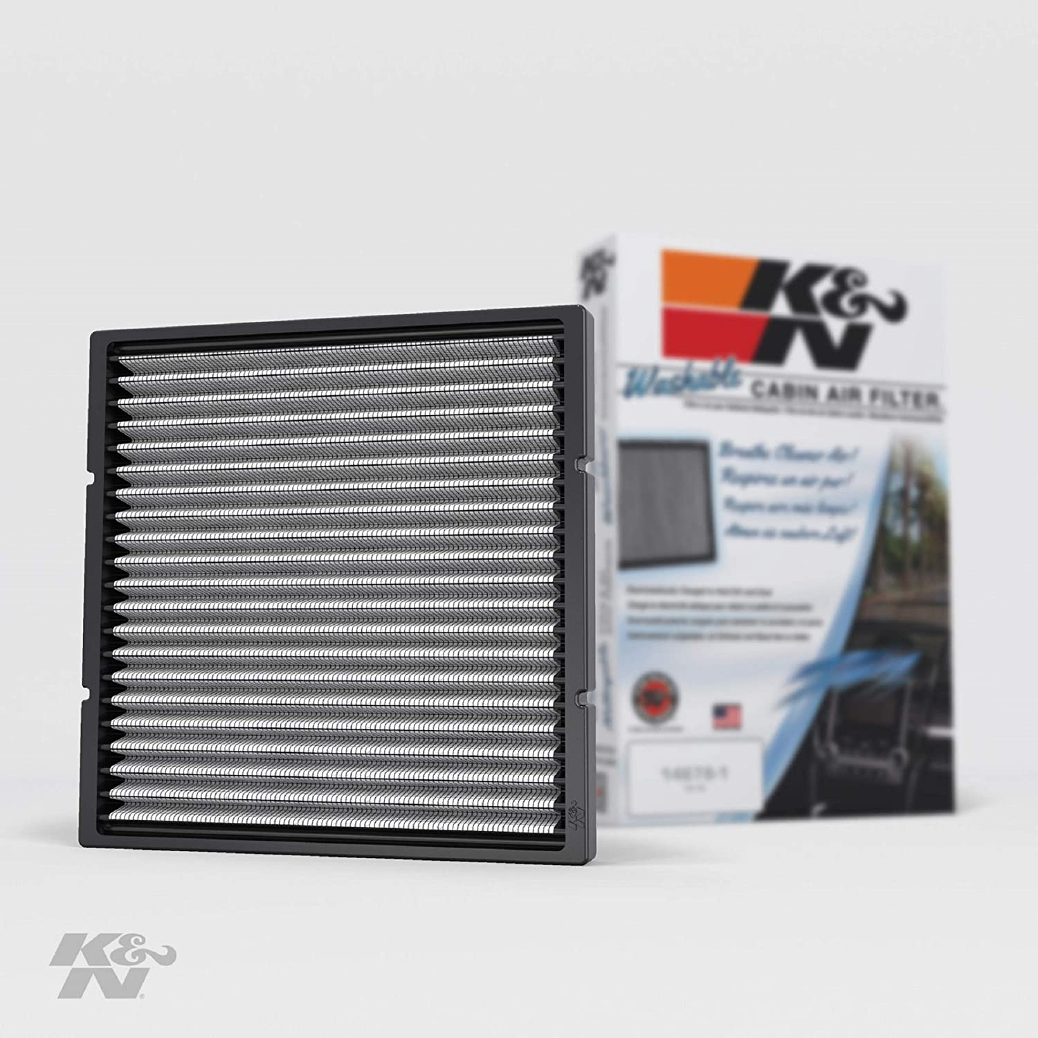 K&N Premium Cabin Air Filter: High Performance, Washable, Lasts for the Life of your Vehicle: Designed For Select 2000-2014 Toyota/Subaru/Mitsubishi/Lexus Vehicle Models, VF2002