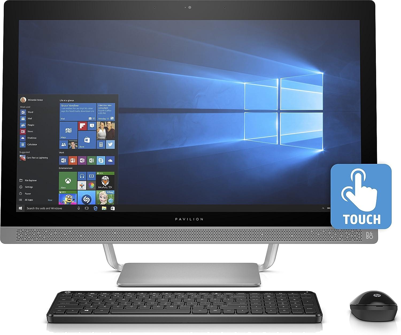 """HP Pavilion 27-A210 AIO - 27"""" FHD Touch - i7-7700T - 12GB - 1TB HDD"""