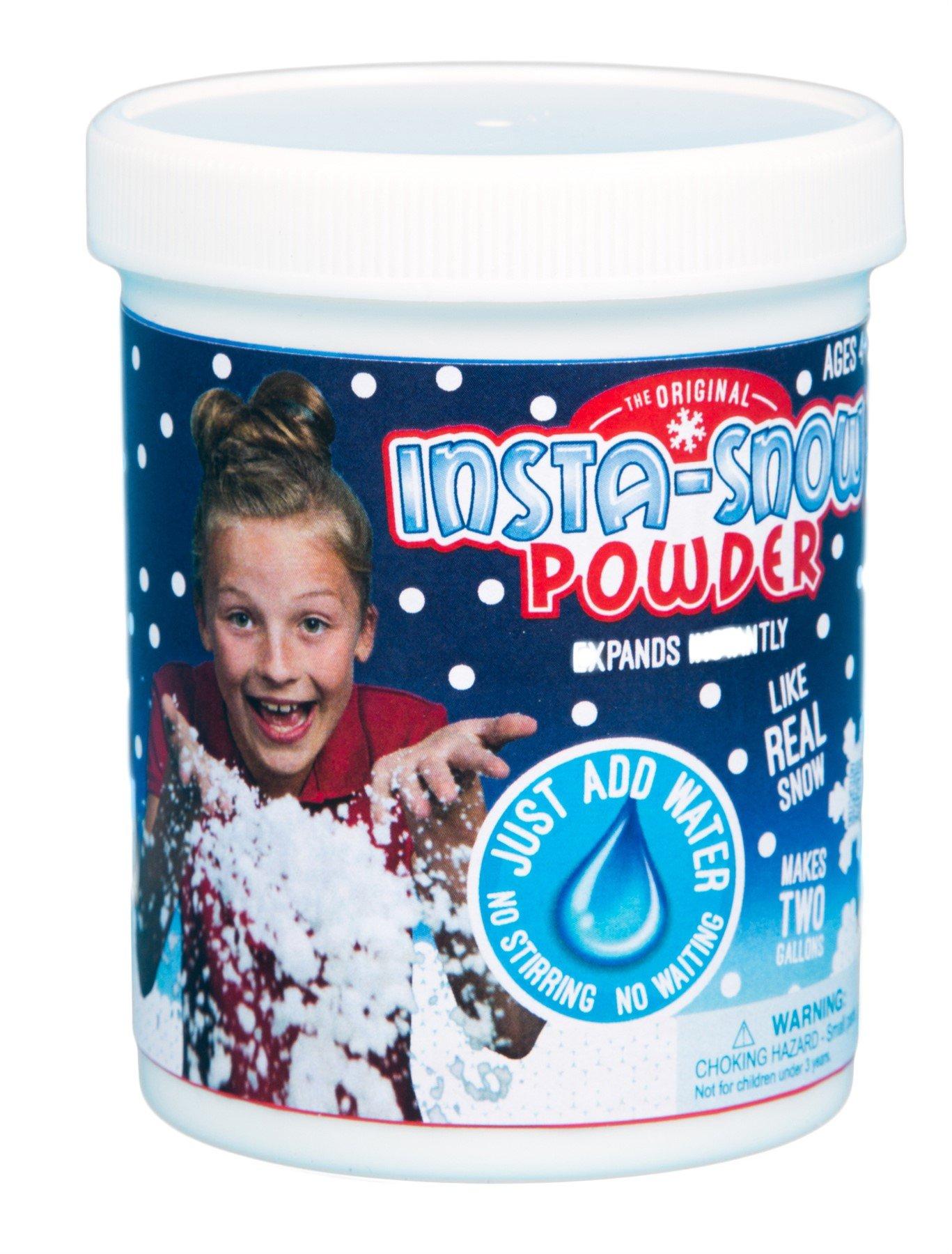 Be Amazing Insta-Snow Jar, Makes 2 Gallons